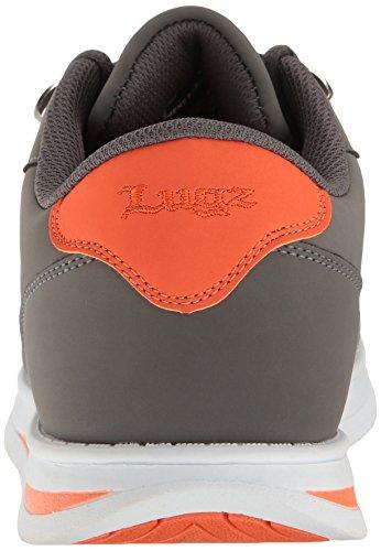 Lugz Mens Zrocs Mode Sneaker Kol / Orange / Vit