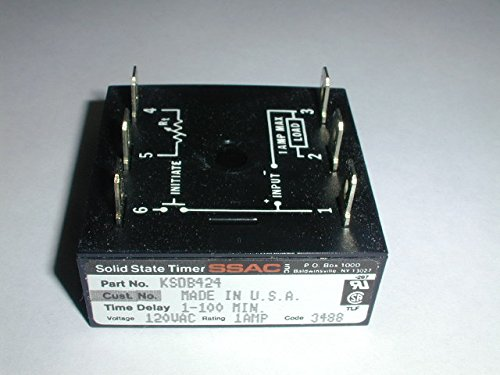Ssac State Solid Timer (KSDB424 Solid State Timer Module)