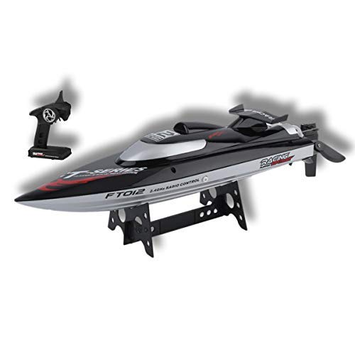High Speed RC Racing Boat FT012 Remote Control 2.4G 4CH 4 Channel Brushless RC Racing Boat (Max Speed 45 km/h)