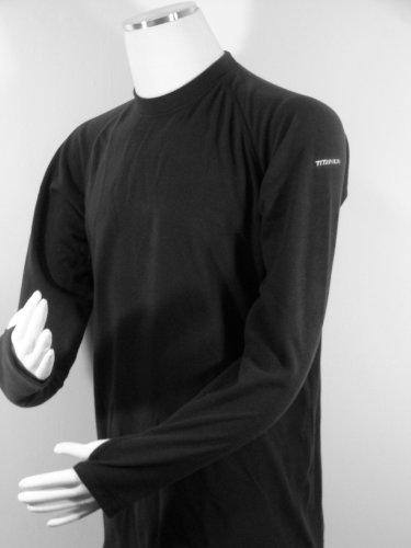 Sleeve Baselayer Titanium Large 46 Columbia Size Neck Top Long Fleece Brushed 48 X Crew SXRwqH