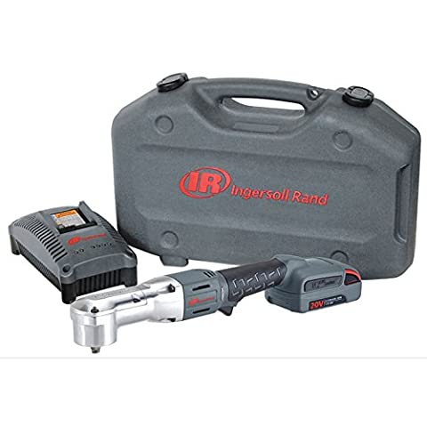 Ingersoll Rand IRC-W5350-K2 20V 1.5 Ah Cordless Lithium - Ion Right Angle Impact Wrench Kit - 0.5 (Ingersoll Rand Angle Impact)