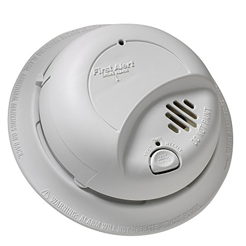 First Alert BRK 9120B Hardwired Smoke Alarm with Battery Backup (3) For Sale