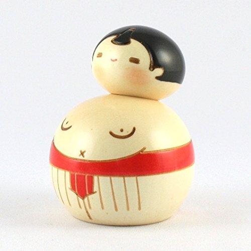 Kokeshi Doll Sumo Red