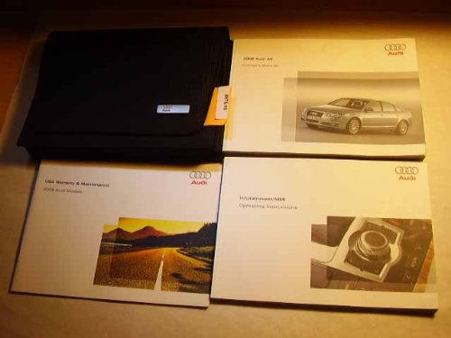 2008 Audi A6 with MMI Infotainment Manual Owners Manual