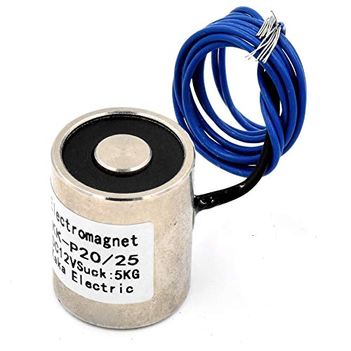 uxcell DC12V 700N Force Electric Lifting Magnet Electromagnet Solenoid Lift Holding 59 x 34mm
