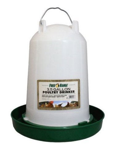 3.5 GALLON PLASTIC POULTRY WATER FOUNTAIN, HARRIS FARMS LLC. by Generic