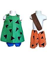 Pebbles and Bam Bam Costume Coordinates