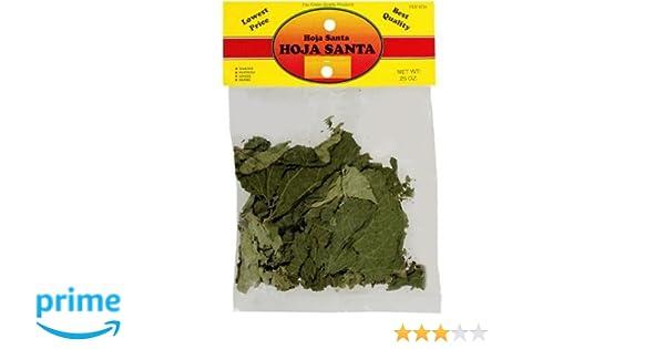 Amazon.com: El Guapo Hoja Santa Herb - Mexican Herb, 0.25 Oz: Health ...