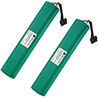 Powerextra {Upgraded 2 Pack 12V 4500mAh Ni-Mh Replacement Battery Compatible with Neato Botavc Series and Botvac D Series Neato Botvac 70e, 75, 80, 85, D75, D80, Botvac D85