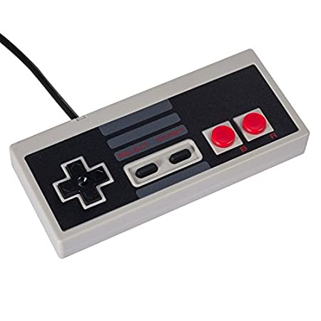 Keten NES Classic Controller with 2.5ft Wired Cable for Nintendo NES Classic Edition System
