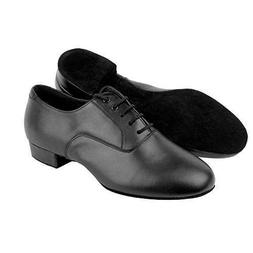 Competition Black Leather Shoes - 2