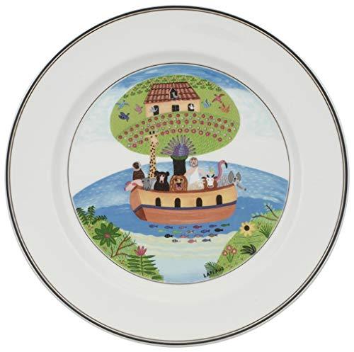 (Villeroy & Boch Design Naif dinner plate #2 Noah's Ark)