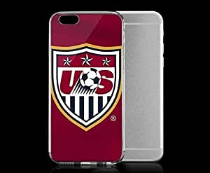 Light weight with strong PC plastic case for iphone 5c Sports & Collegiate World Cup U.S. National Team Red Logo WANGJING JINDA