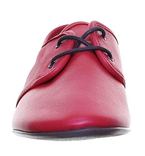 Reece Femme Chaussures Justin Red Pour Ville Carmen À Lacets De HPxCqdOUCw