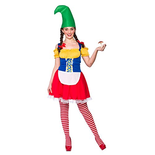 Cute Gnome Ladies Fancy Dress Costume for $<!--$22.01-->