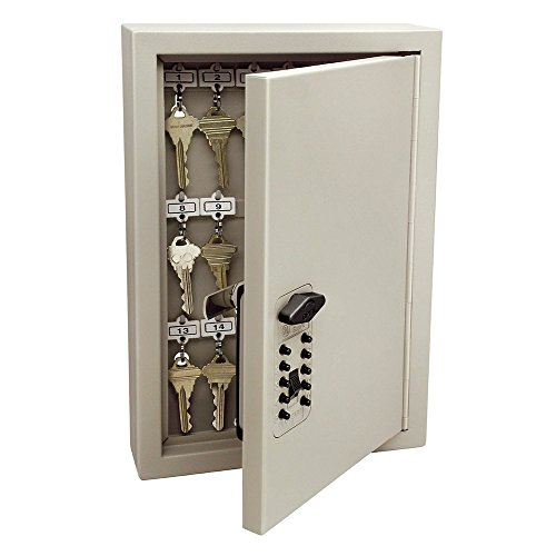 - Kidde 001795 Combination TouchPoint Entry Key Locker, Clay, 30,