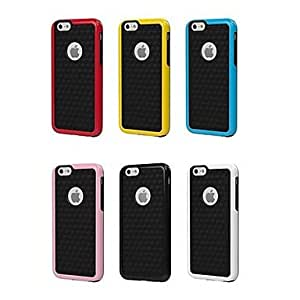 QHY Biocolor TPU and PC Soft Case for iPhone 6 (Assorted Colors) , Pink