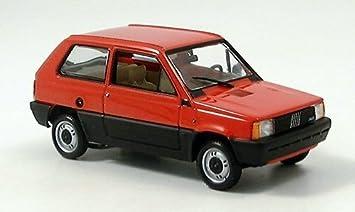 Fiat Panda, rojo, 1980, Modelo de Auto, modello completo ...