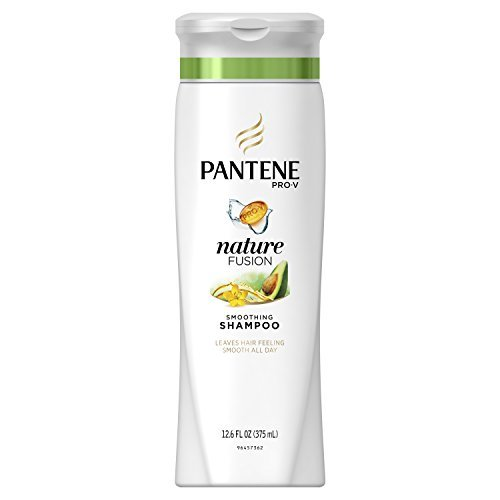 Pantene Pro-V Nature Fusion Smoothing Shampoo with Avocado Oil (Pack of 2)