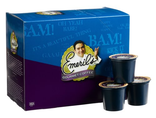 - Emeril's Jazzed Up Decaf Coffee, 24-Count K-Cups for Keurig Brewers (Pack of 2)