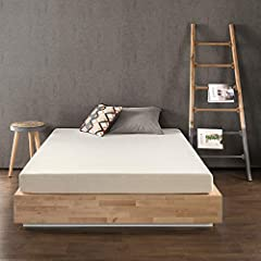 Memory foam provides a great sleeping surface. In normal temperatures it is somewhat firm, but when you lay down, it starts reacting to the temperature of your body and begins to mold itself to your shape. Then, weight is evenly distributed a...