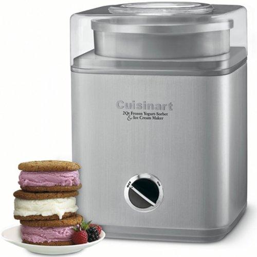 ICE-30BC Pure Indugence Frozen Yogurt/Ice Cream Maker (Certifed Refurbished)