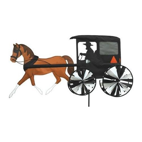 Premier Kites Accent Spinner - Horse & Buggy