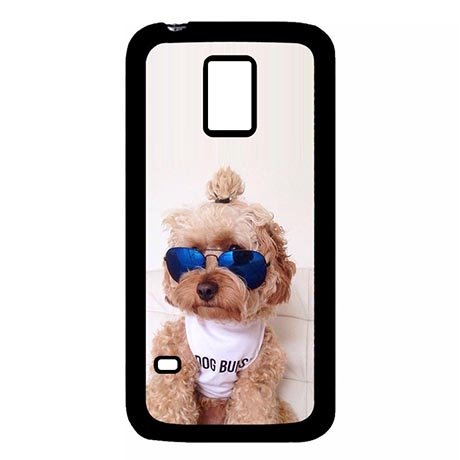 Abstract Doggy With Sunglass Customizable Cool Samsung Galaxy S5 MINI Back Case - Sunglasses Customizable