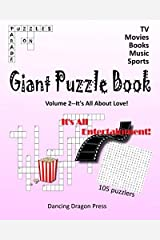 Giant Puzzle Book: TV, Movies, Books, Music, & Sports (It's All Entertainment!) Paperback