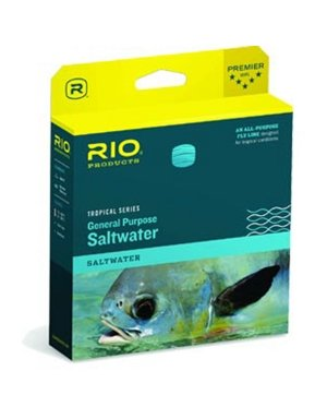 RIO Products Fly Line Tropical Saltwater Wf10F, Aqua-Sand