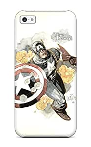 High Quality ZippyDoritEduard Captain America Comics Anime Comics Skin Case Cover Specially Designed For Iphone - 5c