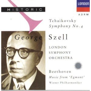 Tchaikovsky: Sym. 4 / Beethoven: Music from 'Egmont'