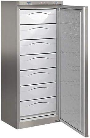 Congelador vertical Tensai CV220A+S INOX: Amazon.es: Grandes ...