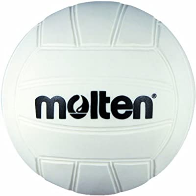 Molten Mini Volleyball, 12-pack (White, 4-Inch Diameter) by Molten