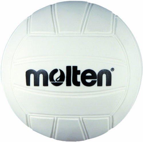 Molten Mini Volleyball, 12-pack (White, 4-Inch Diameter) by Molten