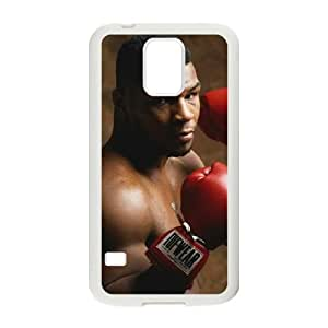 Samsung Galaxy S5 Cell Phone Case White Mike Tyson UAK Back Plastic Phone Case