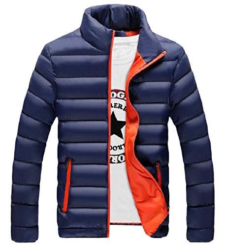 Più Uomini Di Caldo Del Zip Xinheo Giù Pattern2 Puffer Formato Addensato Tasca Collare Basamento RnUqAnT