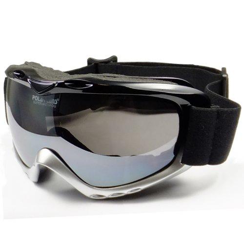 Gloss Black Ski Snowboard Helmet - 9
