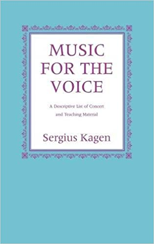 ??DOC?? Music For The Voice, Revised Edition: A Descriptive List Of Concert And Teaching Material. performs receive through Minute previous