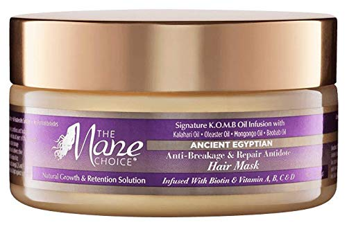 THE MANE CHOICE - Ancient Egyptian Anti-Breakage & Repair Antidote Hair Mask (8 Oz)