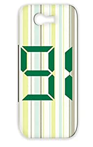 Dirtproof Green For Sumsang Galaxy Note 2 Symbols Shapes Miscellaneous Number 91 Protective Hard Case