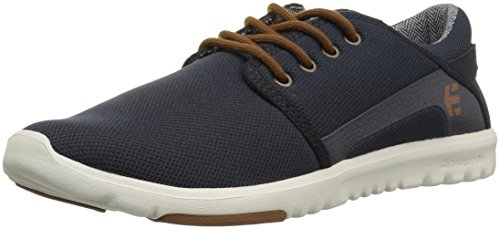 Etnies Mens Men's Scout Skate Shoe, Navy/Gold, 10 Medium US