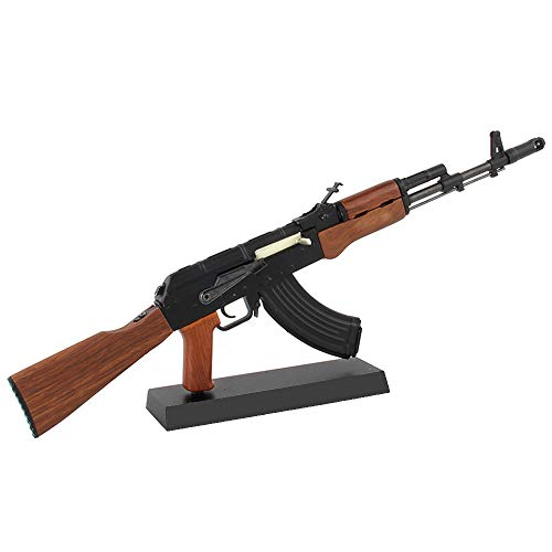 Mini Pew USA AK47 Scale Model Die-cast Replica Gun Non-Firing (Gun Model)