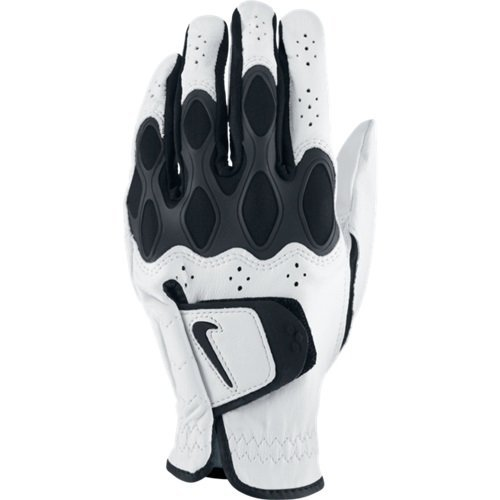 Price comparison product image Nike Men's Dri Fit Tech Regular White Golf Glove, Left Hand, Medium