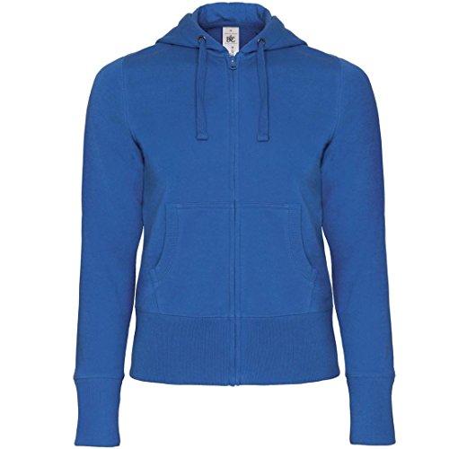 B&C Collection - Sudadera con capucha - para mujer azul real