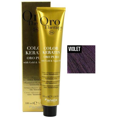 (Fanola Oro Puro Violet Intensifier Coloring Cream)