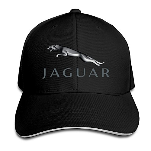 Hittings Jaguar Logo Adjustable Snapback Peaked Cap