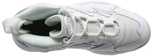 Nike Mens Air Max2 Uptempo 94 Scarpa Da Basket Bianca