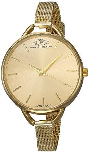 9ffda9135809 Paris Hilton PHT 1006 A Reloj Casual Analógico de Moda para Dama