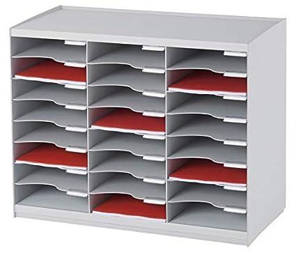 Paperflow Master Literatur-Organizer 36 Compartment schwarz